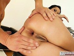 Renata Sucks A Dick And Start To Get Fucked In The Ass. A