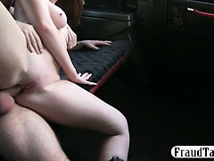 Big Natural Tits Redhead Amateur Offers Blowjob For Payment