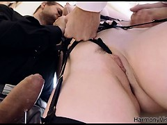 Naughty British Babe Gets Fucked In All Her Holes