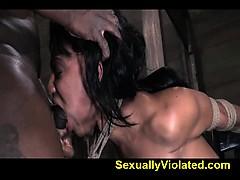 Brutal Deep Throat Rough Orgasm Fuck 2