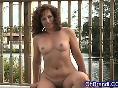 Sexy Brunette Milf With A Round Juicy Ass