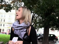 Huge Boobs Amateur Eurobabe Blanka Grain Slammed For Cash