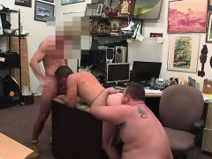 White Guy Fucked In A Pawn Shop