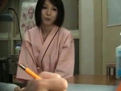 Splendid Japanese Babe Fucked By Her Horny Doctor