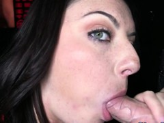 Gloryhole Loving Raven Sucking Dick