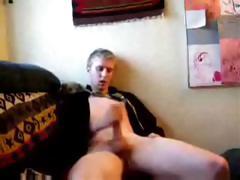 Hot Twink Caught Masturbating