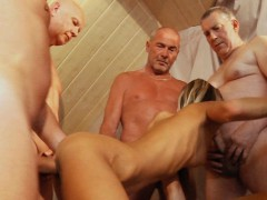 Lola Taylor Gangbanged By Five Old Pervs