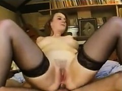 Amateur French Chick In A Threesome
