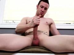 Athletic Muscle Jock Pulling His Dick