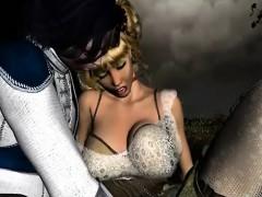 Goddess Training - Fabulous 3D hentai porn collection