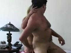 Blonde Femdom Fucks Guy Bottom