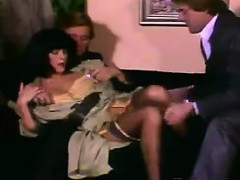 Sexy Hooker With Guys In A Threesome Classic