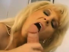 Blonde Milf Giving Head Point Of View