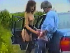 Milf Fucking In And Out Of A Car Classic