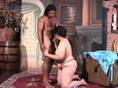 Fat Mother Wants His Hard Dark Dick