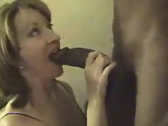 Gilf Enjoying Some Thick Black Cock