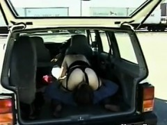 Hairy Chick Having Sex In The Truck