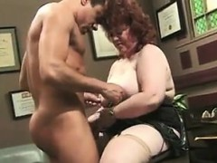 Big Mature Lady Fucking In The Office