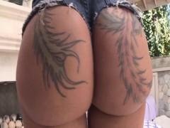 Incredible Ass Tease With Bella Bellz