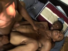 African Twinks Have Group Sex And Spray One Guy With Sperm
