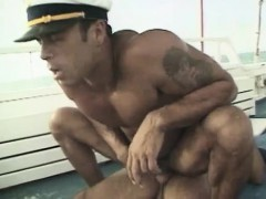 Horny Sailor Getting Fucked Hard Anally On A Boat