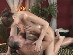 Sexy Babe Tina Massaged And Pounded Hard By Her Masseur