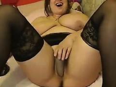 European Bbw With Big Breasts