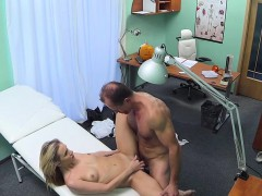 Doctor Suprised And Fucked Blonde