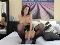 Beautiful Cam Girl With A Toy