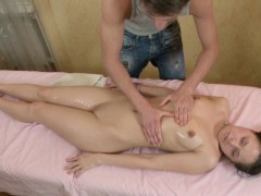 Brother Seduce Step sister To Fuck With Hot Massage