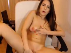 Beautiful Cam Chick Masturbates