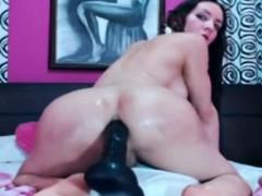 Horny Mature Tranny Fucking Herself