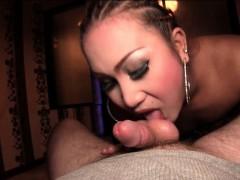Luscious Ladyboy Gets Laid In Bed