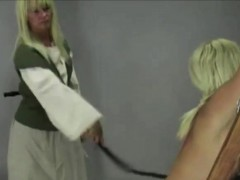 Blonde Bound And Whipped