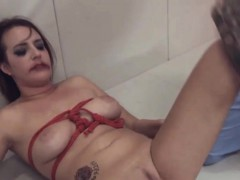 Ropes And Hardcore Anal Penetrate With Dildos