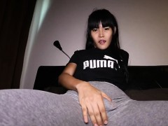Bubble Butt Ladyboy Toying Herself