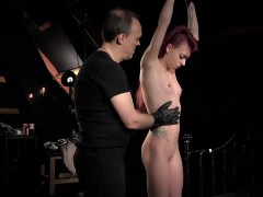 Girl Being Sexual Object For Longing Master