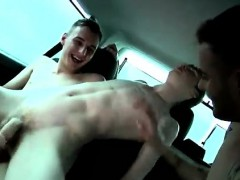 Big Gay Porno Sexy Kai Climbs In Out Of The Rain And Wind An