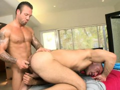 Strong Guy Getting His Anus Fucked Good