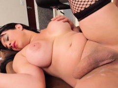 Cocksucking Tgirl Analized By Big Cock