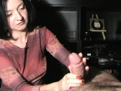 pretty-brunette-sends-her-hands-working-their-magic-on-a-di