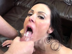 Hot MILF Kendra Lust Nailed Hard on Her Couch