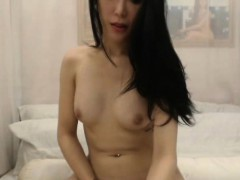 Beautiful Shemale With Perfect Body Seduces And Masturbates