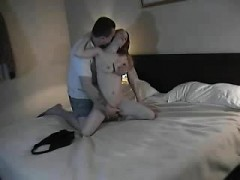 Older Guy With Newer Girl In An Accommodation