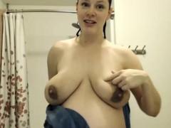 Pregnant Cam Woman In Bath