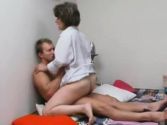 He Gets A Boner Peeking At Her Twat And He Or She Updates
