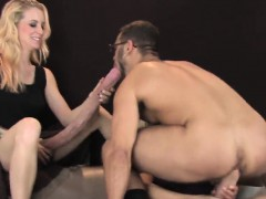 Teenies Pound Dudes Butthole With Massive Strap ons And Squi