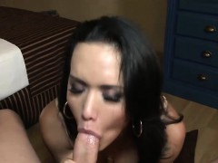 Tranny Cums With Cock In Her Ass Hole