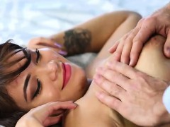 Busty Brunette Cassidy Banks Gets Banged By Her Neighbour