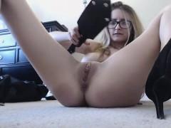 Cute Girl With Big Boobs Masturbates